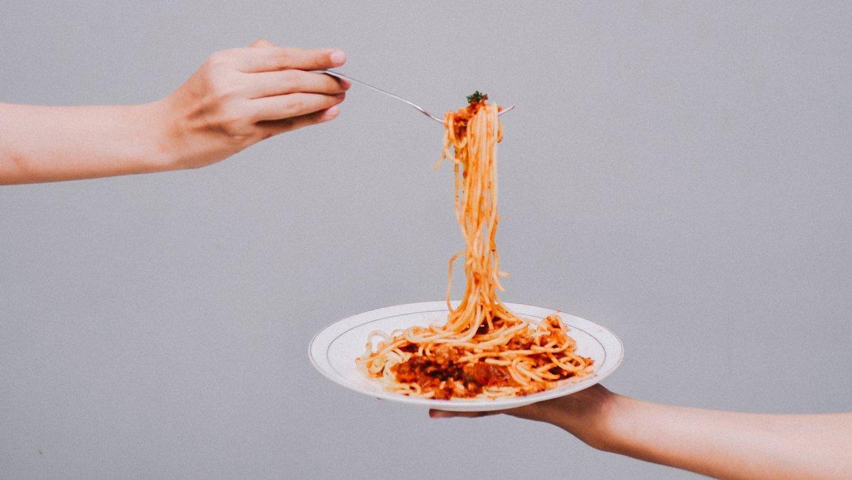 Un plato de espaguetis, el fetiche de todo pastafari.