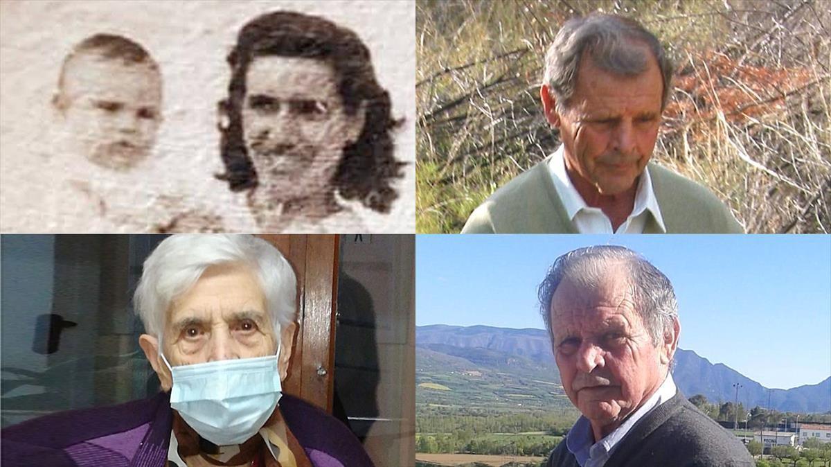 Teresa Avellán y Antonio Bernadó.