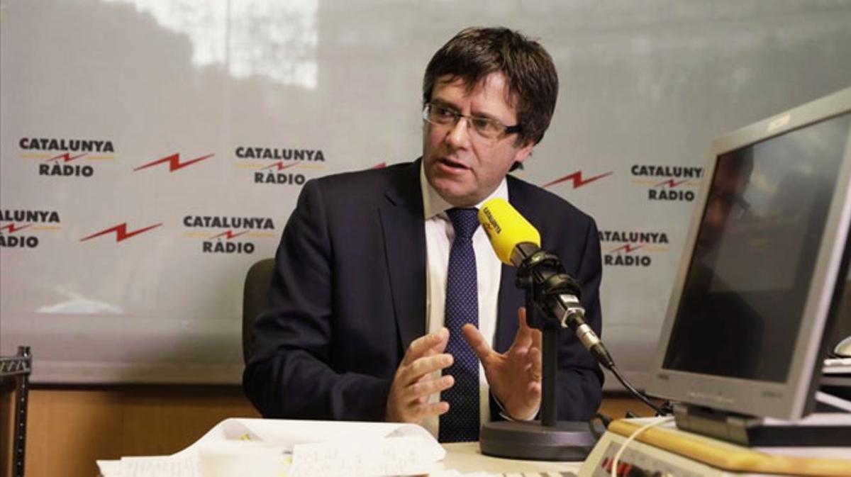 Puigdemont anuncia que puede reunirse con Rajoy en este mes de enero.