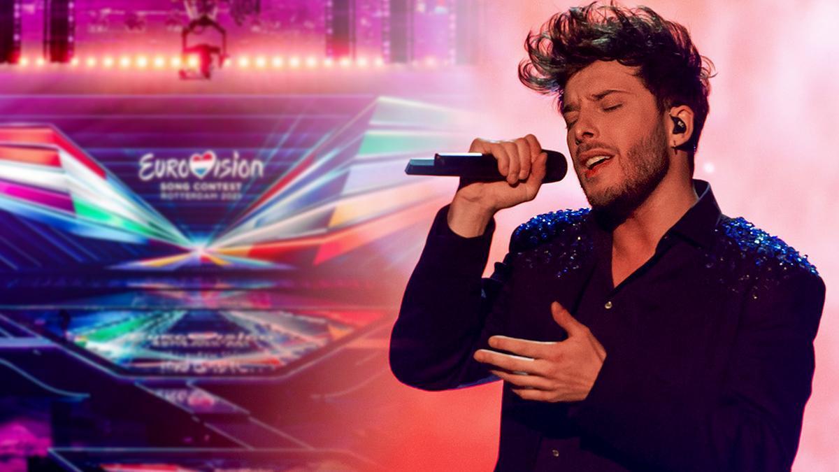 """Blas Cantó, en directo con Ricky García, a punto de viajar a Eurovisión: """"Los que me conocen saben cómo soy, no necesito etiquetas"""""""