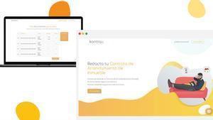 Esta plataforma permite redactar contratos sin necesidad de tener conocimientos legales