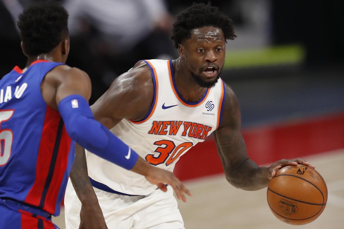 Julius Randle, de los Knicks, en un partido reciente.
