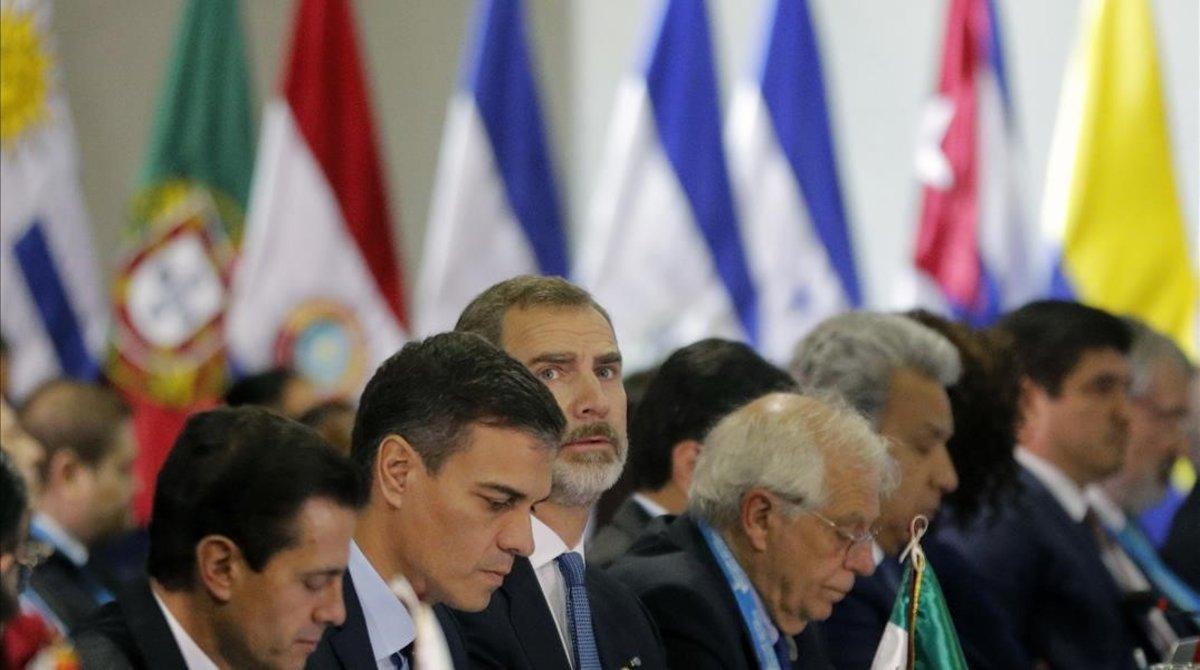 Felipe VI participa en laXXVI Cumbre Iberoamericana.