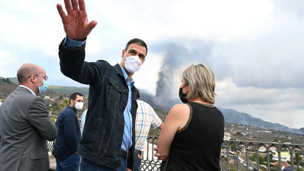 Sánchez crida La Palma a la «prudència» atesa la «imprevisibilitat»