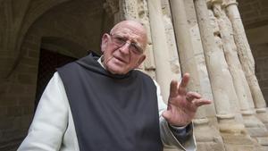 Paco Martínez-Soria, hijo del actor del mismo nombre, es monje de clausura en Poblet.