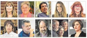 Los diez finalistas del Català de l'Any.