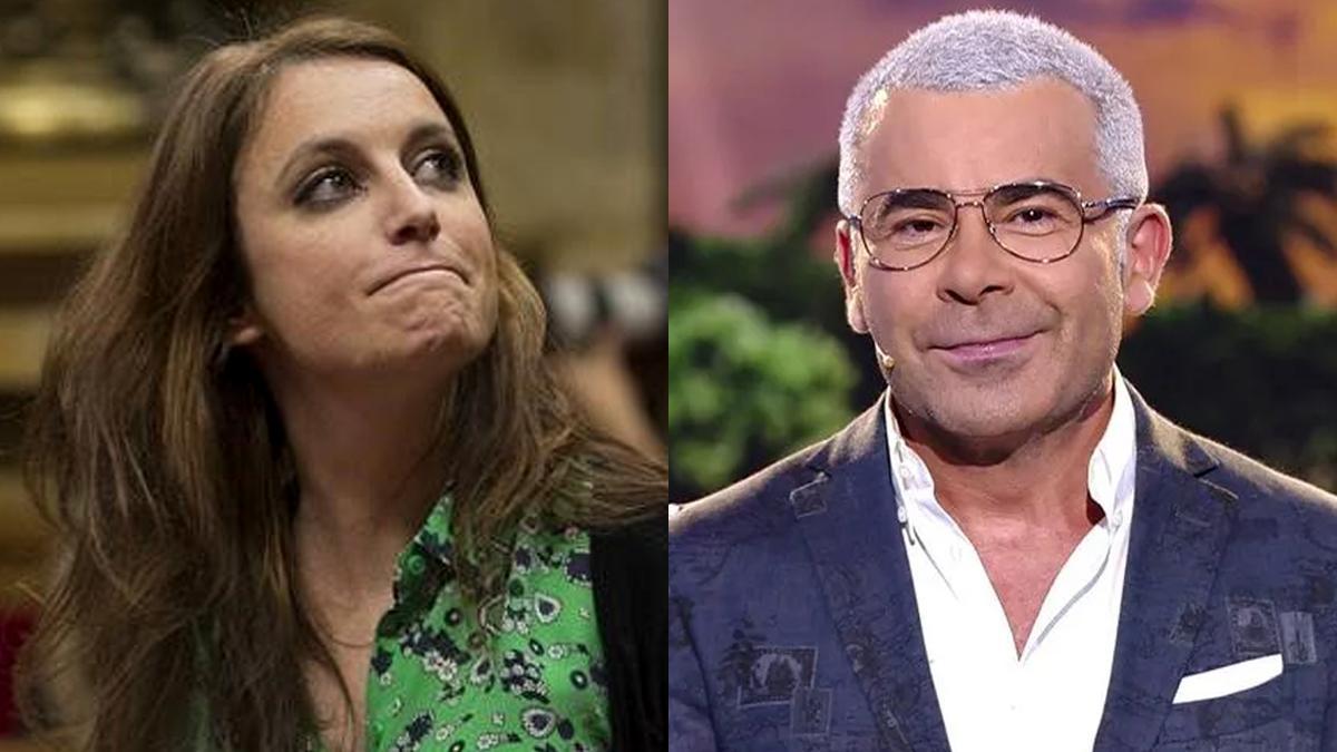 Andrea Levy critica a Jorge Javier con una noticia de YOTELE y este se ríe de ella y de sí mismo