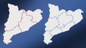 Mapa de las áreas sanitarias de Catalunya: ¿dónde podré ir si cambia el confinamiento?