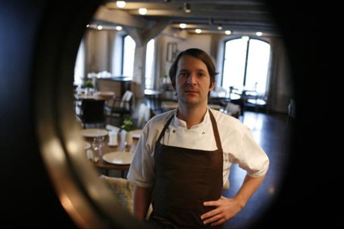René Redzepi, chef del restaurante Noma.