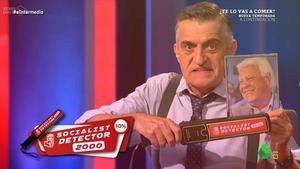 El Socialist Detector de'El intermedio'.
