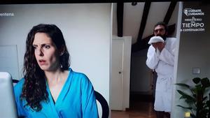 'Diarios de la cuarentena' (TVE-1).