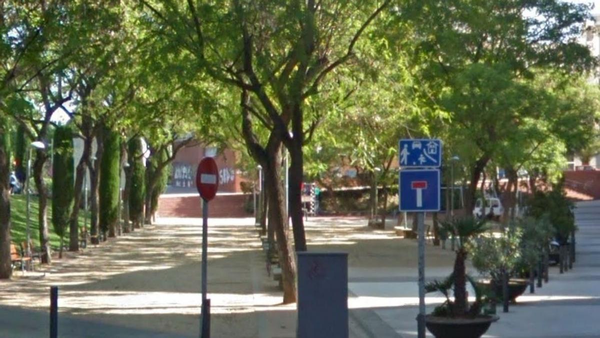 La calle Torrent d'en Grau de Badalona.