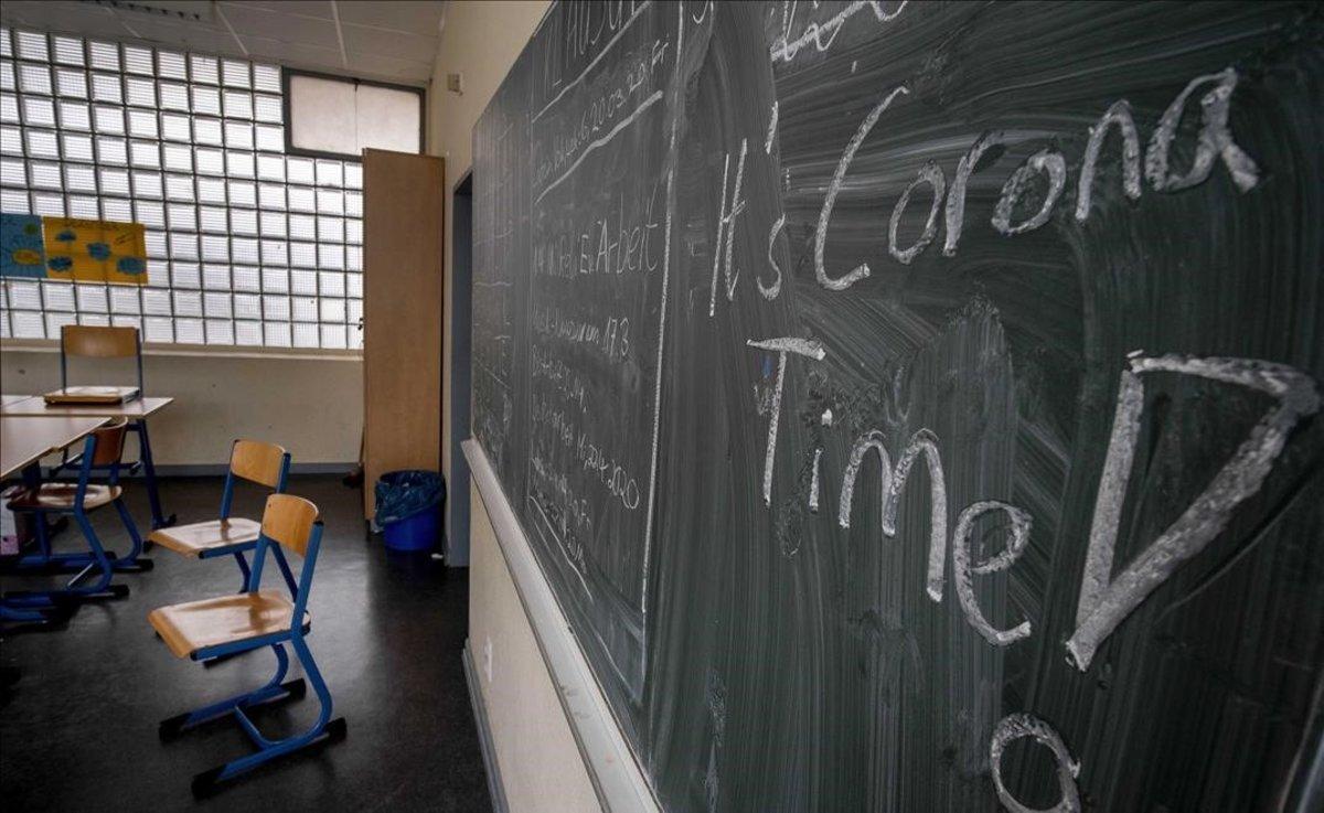 Tancades dues escoles a Alemanya per contagi després de només cinc dies de classe