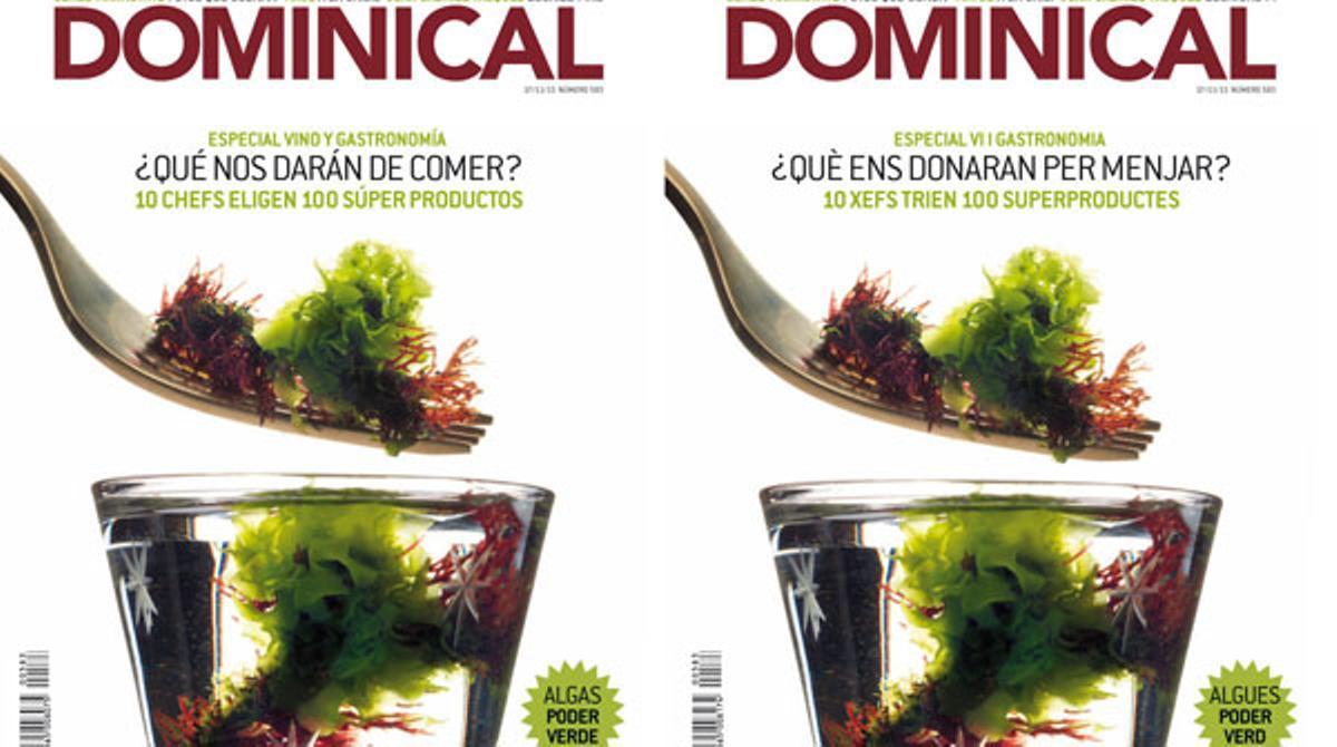 Imma Muñoz presenta los contenidos de la revista de EL PERIÓDICO.