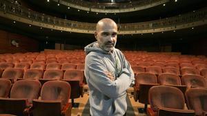 Joel Minguet, en el Teatre Romea.
