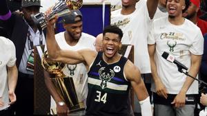Antetokounmpo, el campió de l'NBA amb la història més increïble cap a l'èxit
