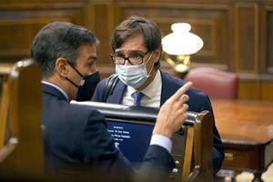 Sánchez vol treure transcendència a l'alarma i deixa el debat en mans d'Illa
