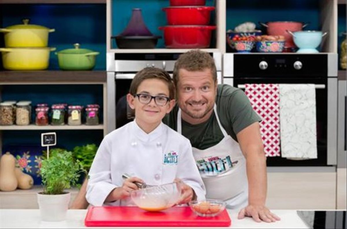 Aimar y El Monaguillo, en la cocina de 'Un, dos, ¡chef!'