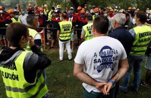 El conflicte d'Alcoa San Cibrao entra en punt mort