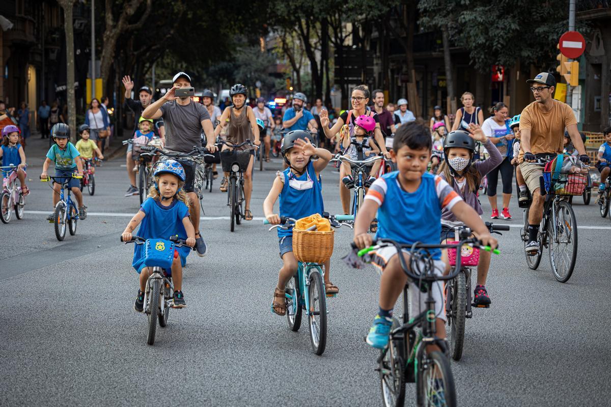 Pilot ciclista per anar al col·le