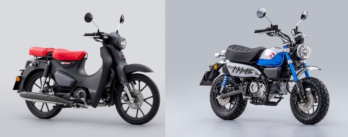 Nuevas Honda Super Cub y Monkey 2022: más confortables y con motor Euro 5
