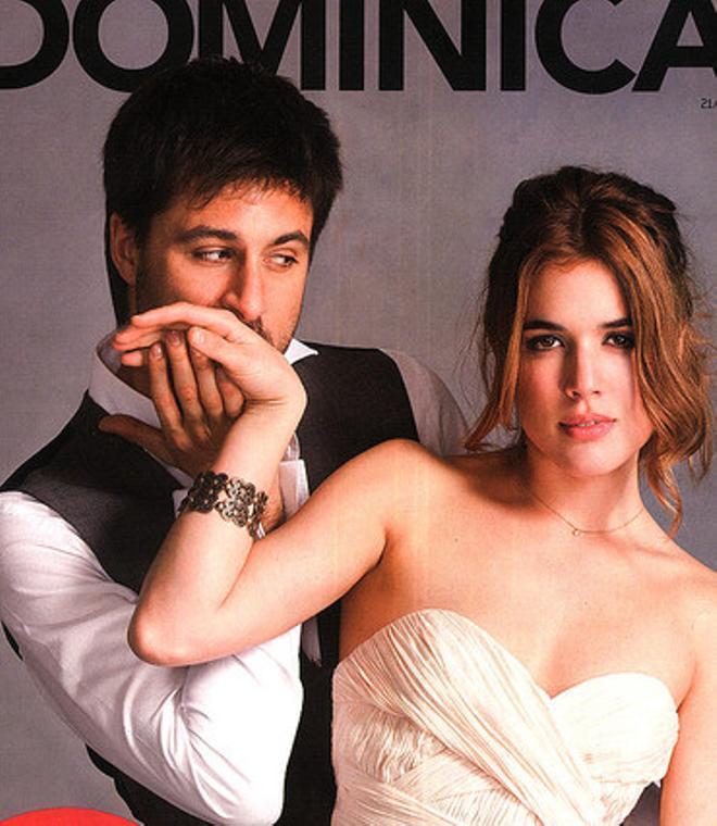 Hugo Silva y Adriana Ugarte en la portada de 'Dominical'.