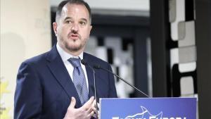 Carlos Iturgaiz, en una foto de archivo de noviembre de 2018, durante una conferencia.