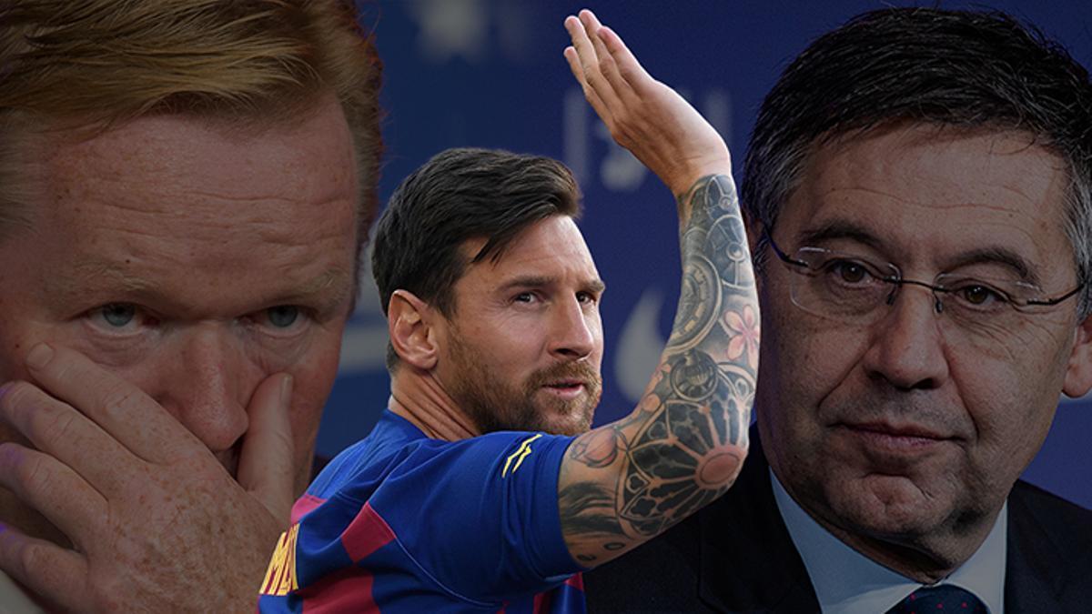 Messi quiere irse: el barcelonismo en shock