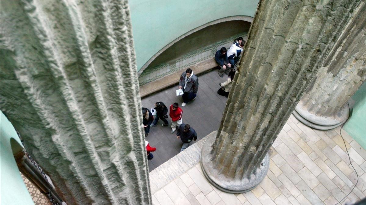 Ruta amb nens a cinc escenaris de la Barcelona romana