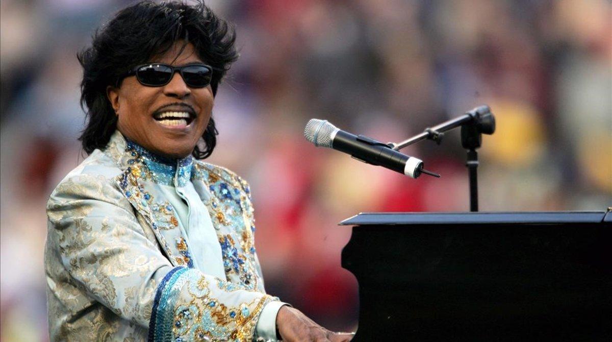 Little Richard, en Memphis, en diciembre del 2004.