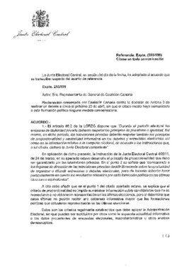 Dictamen de la Junta Electoral sobre el debate en Atresmedia.