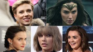 Un usuario de Reddit ha colocado caras de famosas en películas porno con bastante verosimilitud. De arriba a abajo y de izquierda a derecha, Scarlett Johansson, Gal Gadot, Emma Watson, Taylor Swift y Maisie Williams.