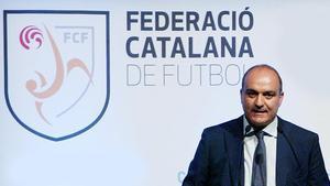 Andreu Subies, presidente de la Federació Catalana de Futbol.