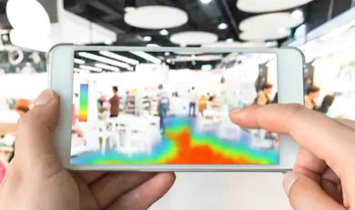 Losmapasdecalorpara retail permiten estudiar el recorrido de los clientes en el espacio físico.