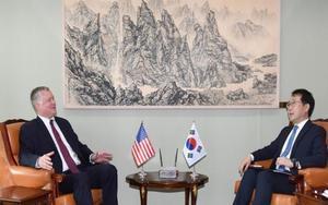 Reunión entre los representantes de los EEUU y Corea del Sur.