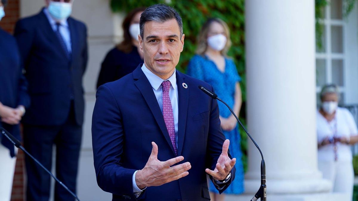 Pedro Sánchez no prevé un referéndum consultivo porque separaría a la ciudadanía.