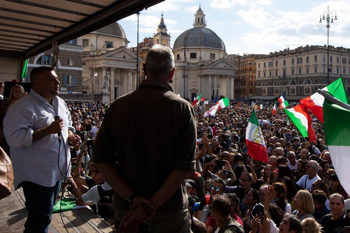L'extrema dreta italiana finança la propaganda dels antivacunes