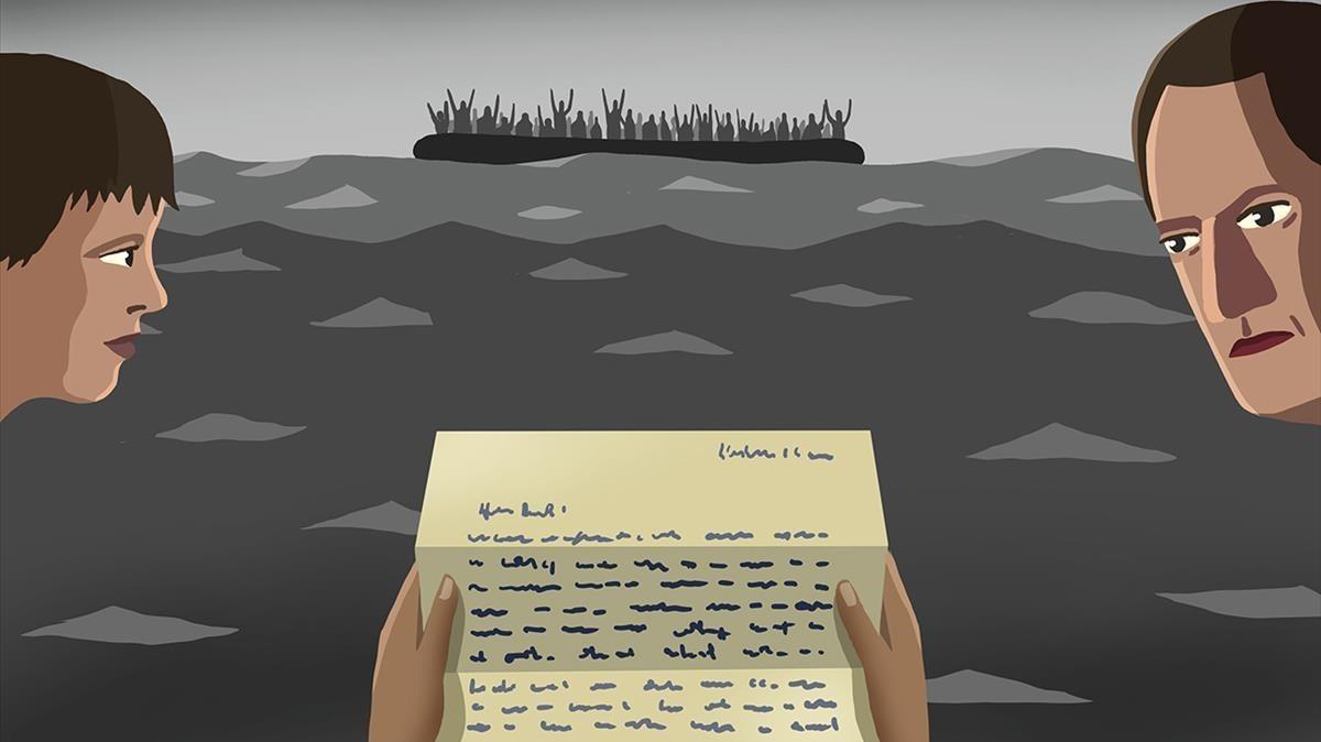 Carta de Junqueras a la seva dona sobre els refugiats