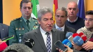 Declaraciones del delegado del Gobierno en Andalucía, Lucrecio Fernández.
