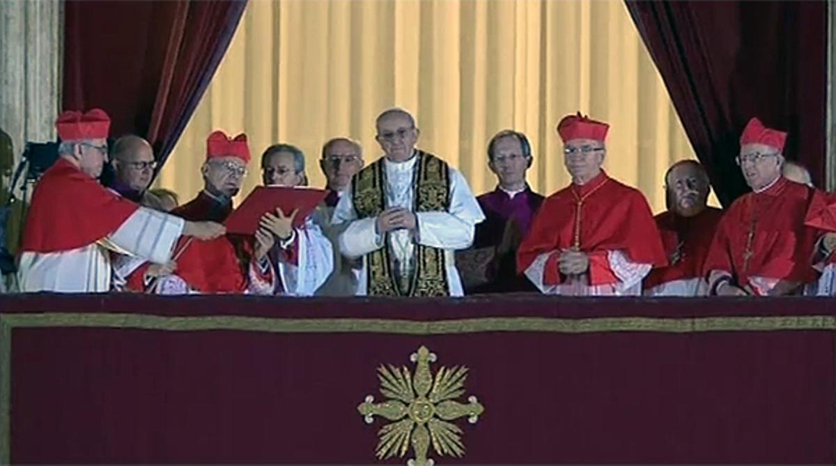 Primeras palabras de Francisco I, nuevo papa