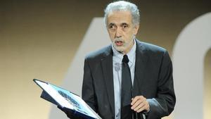 El director de cine Fernando Trueba, Premio Nacional de Cinematografía.