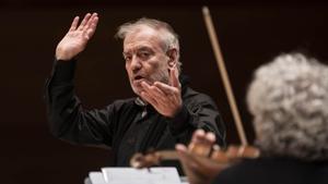 Valery Gergiev, en el Auditori, el jueves.