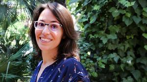 La escritora Eva Baltasar, en el 2018.