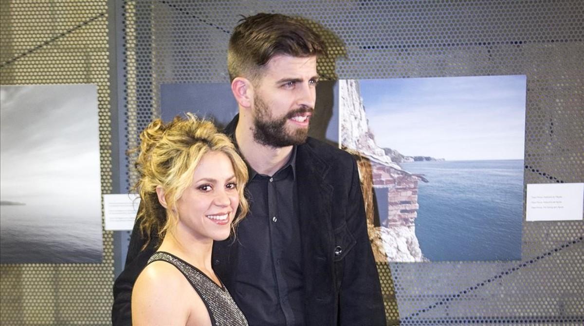 Piqué y Shakira, el pasado enero.
