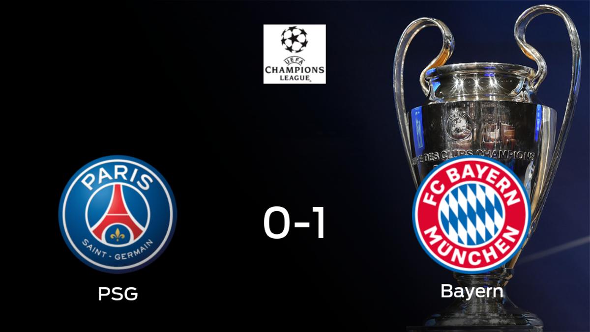 El París S. Germain elimina al Bayern de Múnich a pesar de perder 0-1 el partido de vuelta de cuartos de final