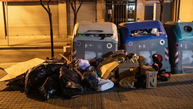 Plan para mejorar la limpieza de Barcelona: Trinitat Nova