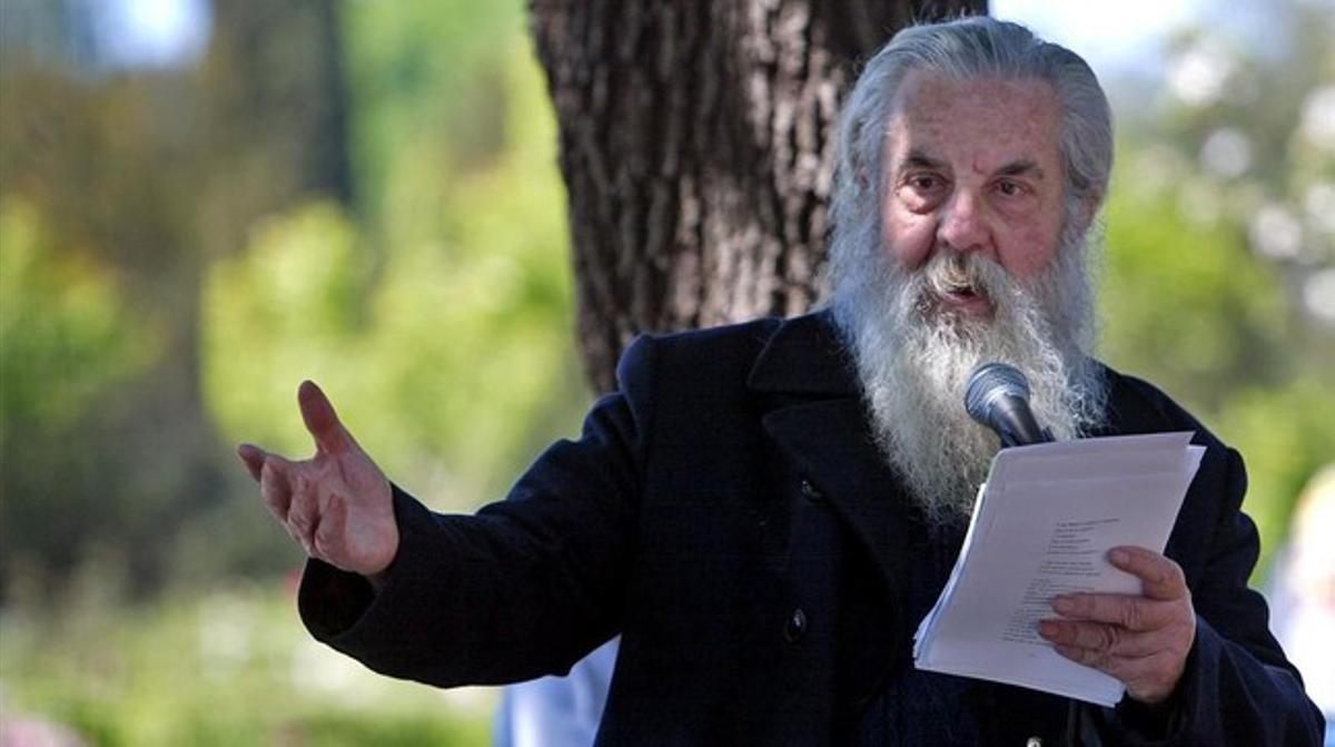 El poeta Jesús Lizano.