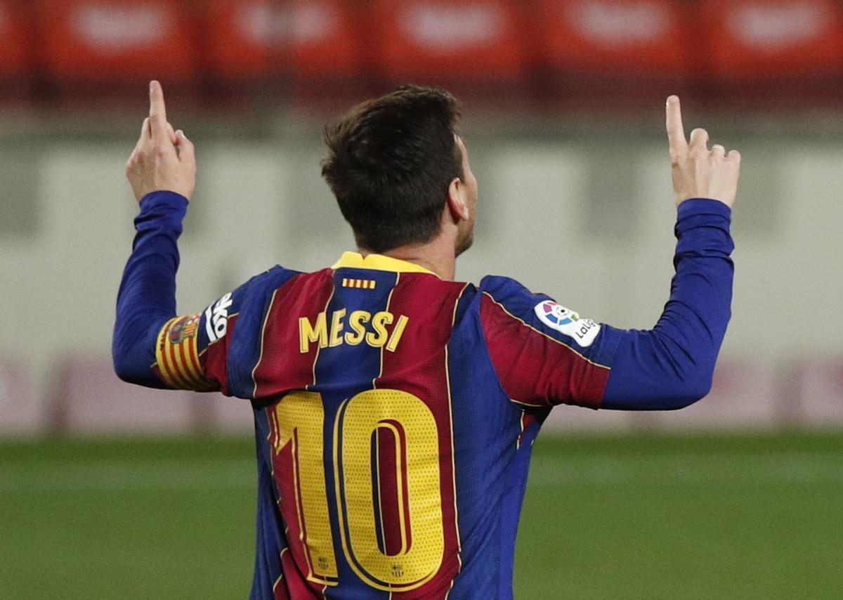 Leo Messi, el ídolo que deja el Barça.