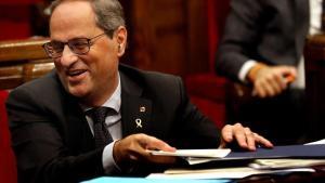 Torra anuncia una reunió independentista per accelerar cap a l'autodeterminació