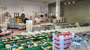 Fins a 2.600 famílies van dependre de les ajudes alimentàries del Rebost Solidari de Sabadell a l'estiu del 2020